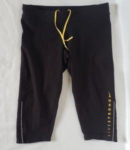 Nike Livestrong Capri Leggings